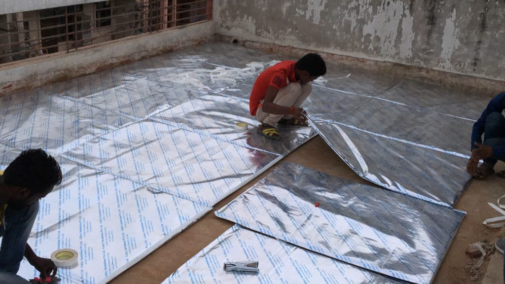 (GalaxyInsuShield) Roof Insulation Panels