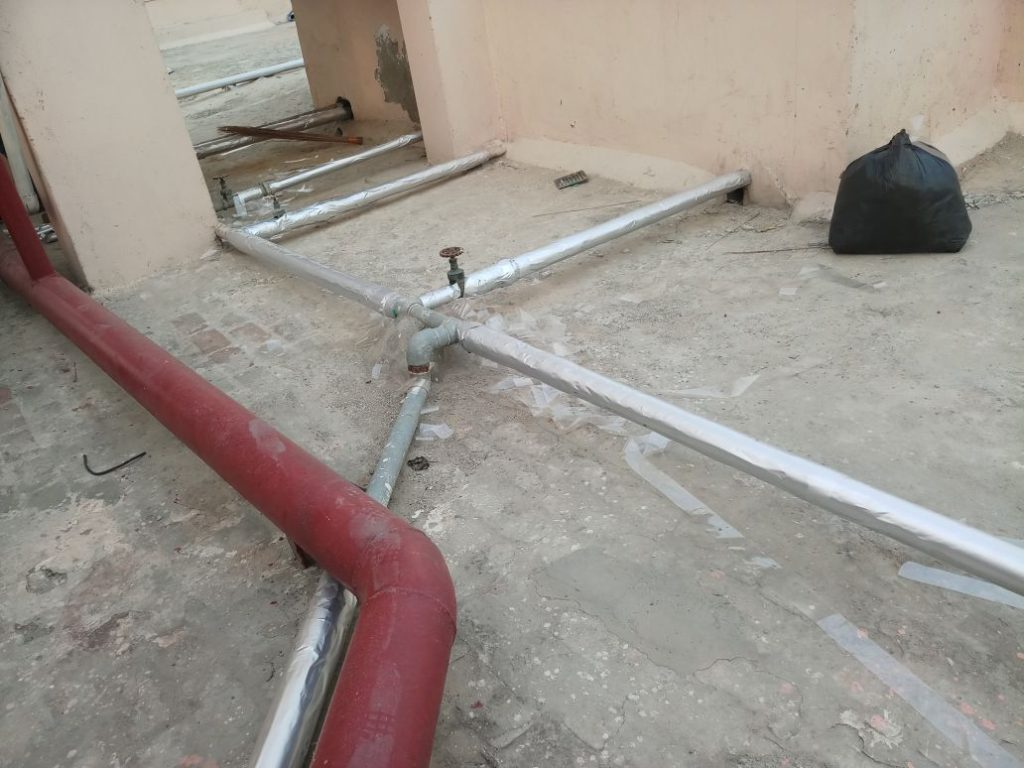 Water Pipeline Insulation
